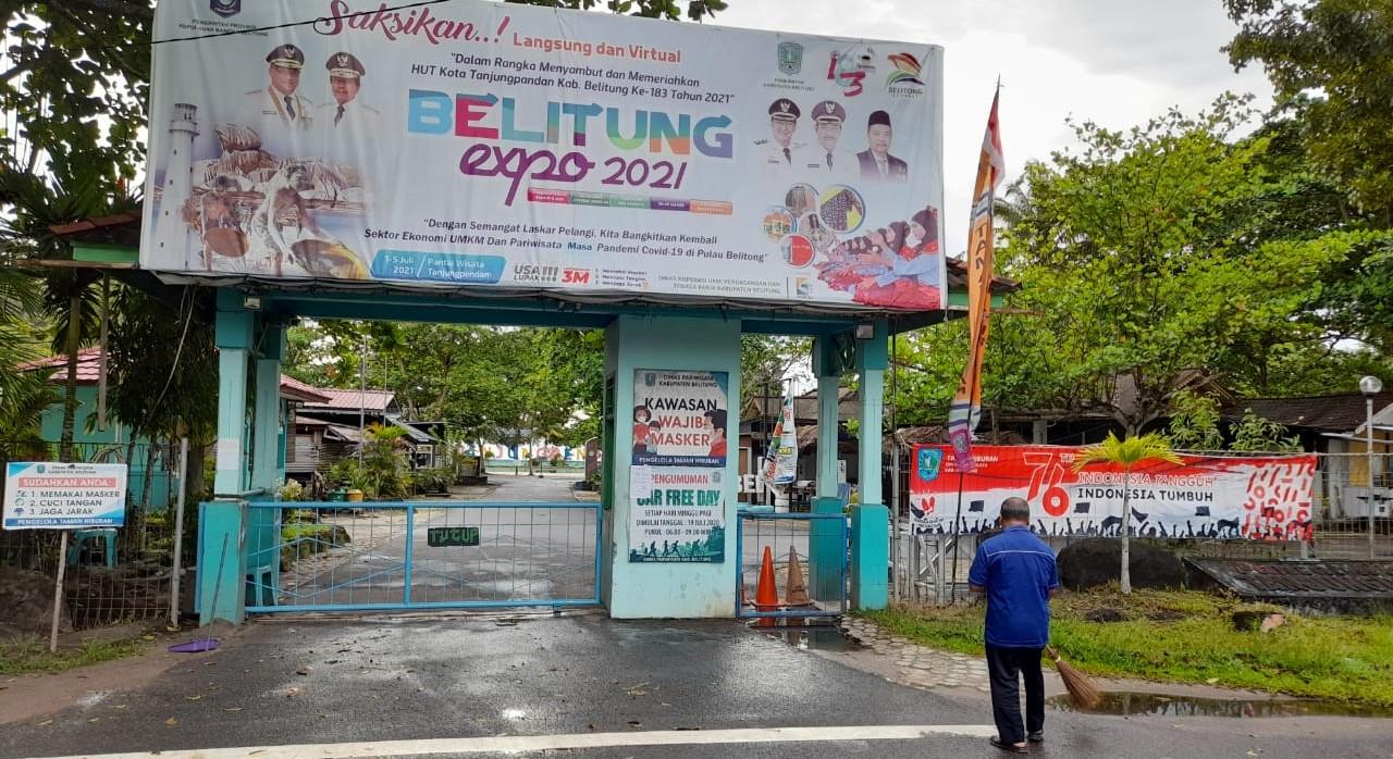 Bakal Kembali Dibuka, Pengunjung Pantai Tanjungpendam ...